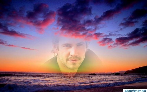 Paul Walker wallpaper possibly containing a sunset entitled Paul Walker<3