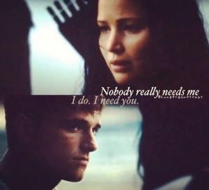 Katniss and Peeta ღ