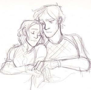 Katniss and Peeta ☆
