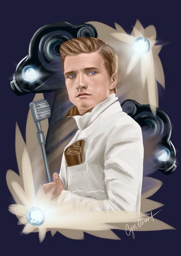 Peeta Mellark wallpaper probably containing a lectern entitled Peeta Mellark ✦