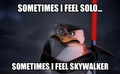 Sometimes i feel solo. - penguins-of-madagascar photo