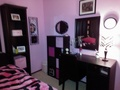 pink bedroom - pink-color photo