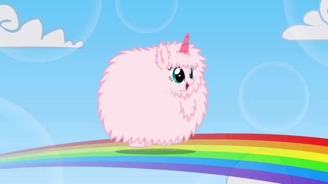粉, 粉色 Fluffy Unicorn