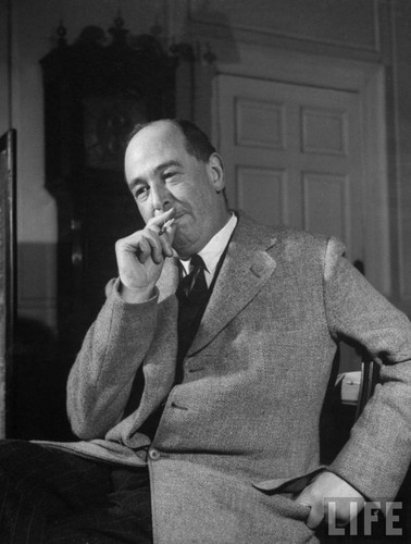 Poets & Writers wallpaper containing a business suit and a suit entitled C. S. Lewis