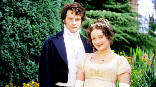 Pride and Prejudice 1995 wallpaper entitled Darcy & Lizzie