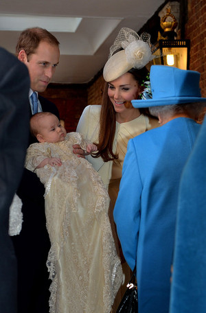 Prince George of Cambridge Christened in ロンドン
