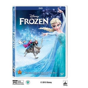 Frozen - Uma Aventura Congelante DVD
