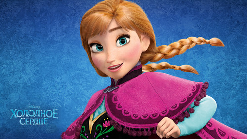 Princess Anna wallpaper titled Frozen wallpaper
