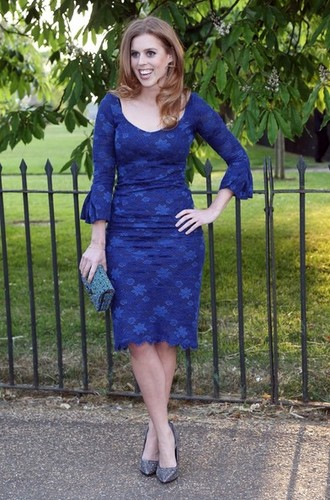 ratu elizabeth ii wallpaper called Princess Beatrice of York arrives at the Serpentine Gallery