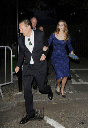 Princess Beatrice of York seen at The Serpentine Gallery in Hyde Park