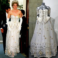 Princess Diana's gown fetches a fairytale £102k for charity fund - princess-diana photo