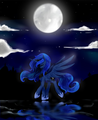 a work of art - princess-luna photo