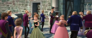 Rapunzel and Flynn invited to Elsa's coronation