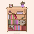 Pusheen Hiding - pusheen-the-cat photo