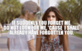 Forget You - quotes fan art