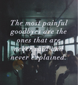 Goodbyes - quotes photo