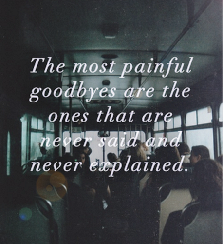 Quotes wallpaper containing a sign called                 Goodbyes
