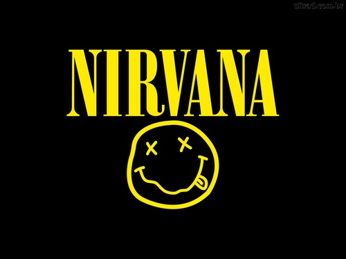 Random wallpaper titled Nirvana Logo
