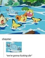pokemon in water - random photo