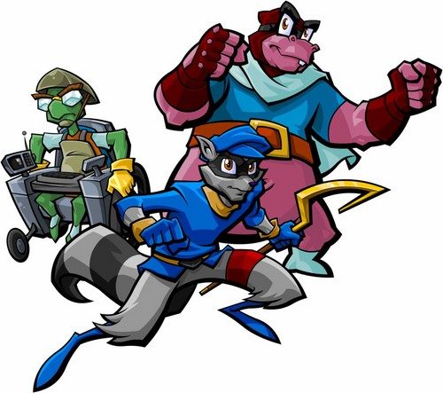 Random wallpaper containing anime called Sly Cooper