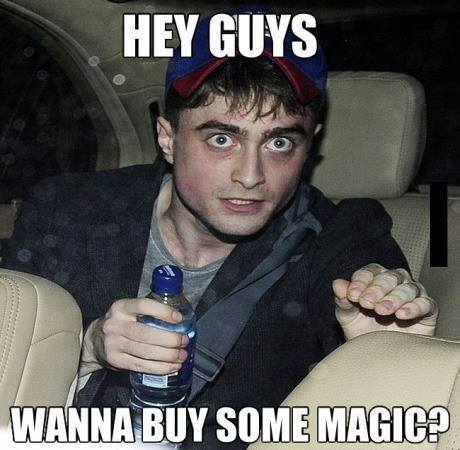 misceláneo fondo de pantalla entitled Harry potter wants to know if tu wanna buy some magic?
