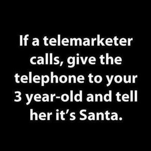 What to do what a telemarketer calls