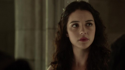 Reign [TV Show] wallpaper containing a portrait titled Bash/Mary Screencaps