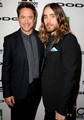 Robert Downey Jr. and Jared Leto at the 17th Annual Hollywood Film Awards - robert-downey-jr photo