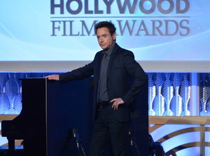 Robert Downey Jr. at the 17th Annual Hollywood Film Awards