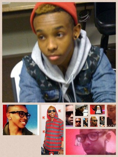 Roc Royal (Mindless Behavior) wallpaper probably containing a newspaper, a sign, and anime entitled My boo is so fine
