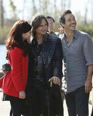 Rumple, Belle and Neal