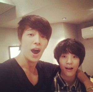 Jeno and Super Junior's Donghae