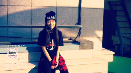 SM ROOKIES Обои possibly with a sign, an outerwear, and a улица, уличный entitled SEULGI 슬기_THE ROOFTOP