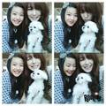 Tiffany selca with SM Rookies Lami