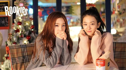 SM ROOKIES Обои with a portrait titled Seul Gi and Irene teaser 1