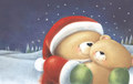 'Forever Friends' as Santa Bear - santa-claus photo