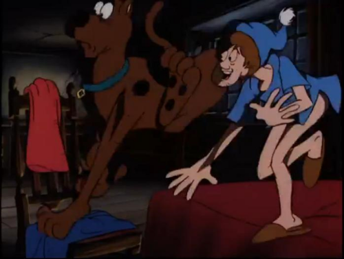 Scooby-Doo 壁纸 with 日本动漫 entitled Scooby Doo Meets the Boo Brothers (Scooby Doo and Shaggy)