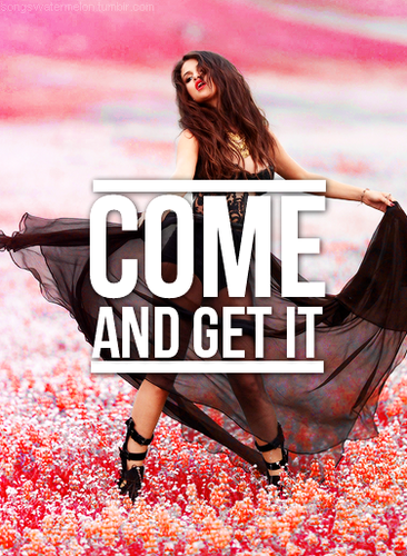 Selena Gomez & The Scene fondo de pantalla entitled Selena-come and get it