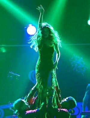 Selena performs in 106.1 ciuman FM's Jingle Ball in Seattle - December 8