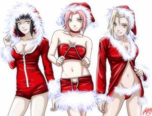 Sakura, Hinata and Ino