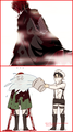 Levi cleans Armin - shingeki-no-kyojin-attack-on-titan photo