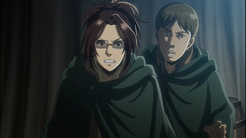 Shingeki no Kyojin (Attack on Titan) Hintergrund entitled Ilse's Notebook OVA
