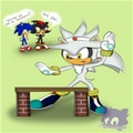Karate silver  - silver-the-hedgehog photo