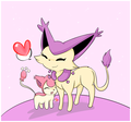 Some Skitty and Delcatty Lovin'! - skitty photo
