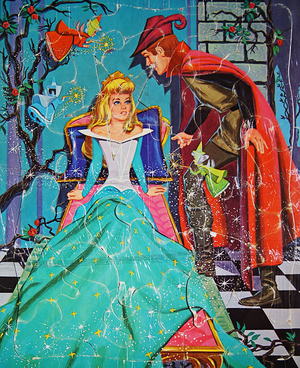 Disney's Sleeping Beauty Frame Tray Puzzle by Whitman