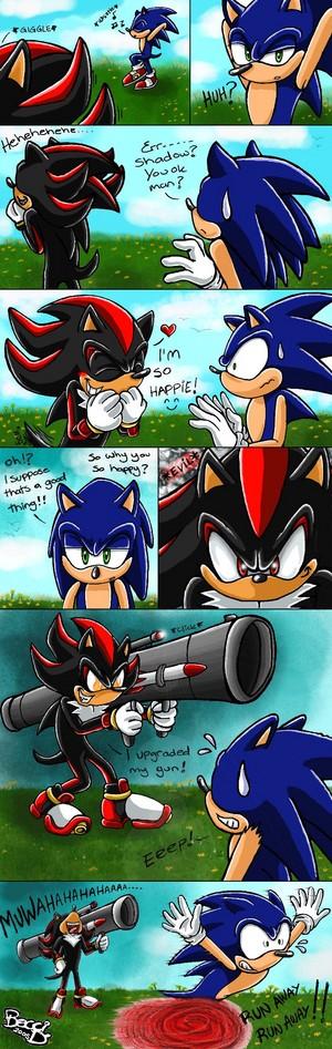 Run sonic!