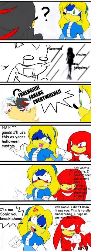 Sonics costume
