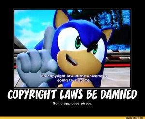 Copyright laws be damned