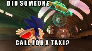 Taxi! Who order a taxi