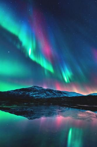o espaço wallpaper called Aurora Borealis